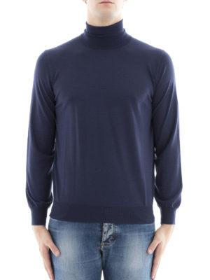 Brunello Cucinelli: Turtlenecks & Polo necks online - Wool and cashmere blend turtleneck