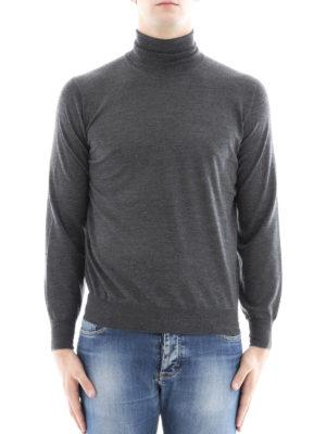 Brunello Cucinelli: Turtlenecks & Polo necks online - Wool blend fine turtleneck sweater