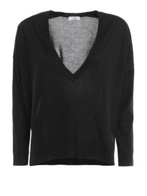 Brunello Cucinelli: v necks - Cashmere and silk over sweater