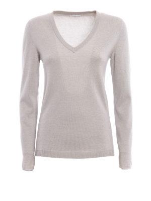 Brunello Cucinelli: v necks - Cashmere sweater
