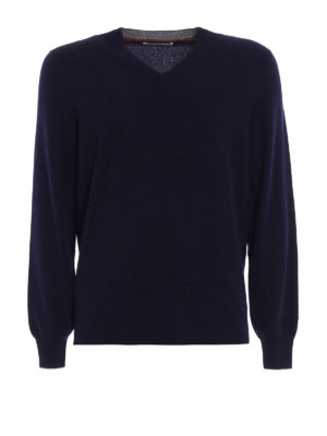 Brunello Cucinelli: v necks - Cashmere V-neck sweater