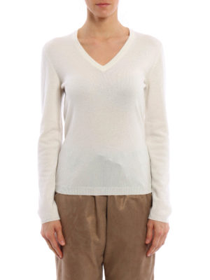 Brunello Cucinelli: v necks online - Cashmere sweater