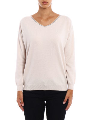 Brunello Cucinelli: v necks online - Cashmere V-neck sweater
