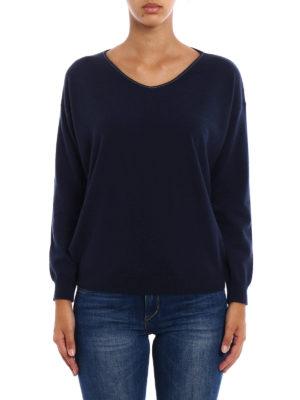 Brunello Cucinelli: v necks online - Cashmere V-neck sweater