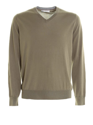Brunello Cucinelli: v necks - V neck pullover