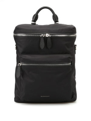 Burberry: backpacks - Donny black backpack