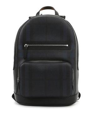 Burberry: backpacks - Marden check backpack