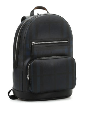 Burberry: backpacks online - Marden check backpack