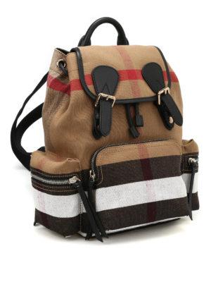 Burberry: backpacks online - The Rucksack medium canvas backpack