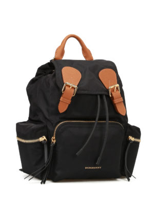 Burberry: backpacks online - The Rucksack nylon medium backpack
