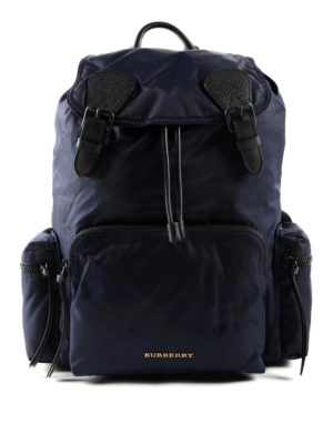 Burberry: backpacks - Showerproof nylon backpack