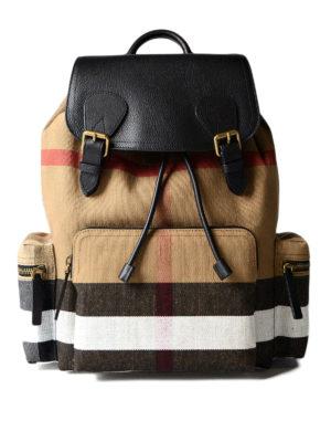 Burberry: backpacks - The Rucksack backpack