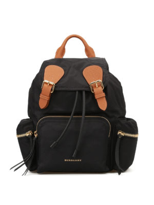 Burberry: backpacks - The Rucksack nylon medium backpack