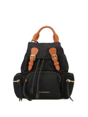Burberry: backpacks - The Rucksack nylon small backpack