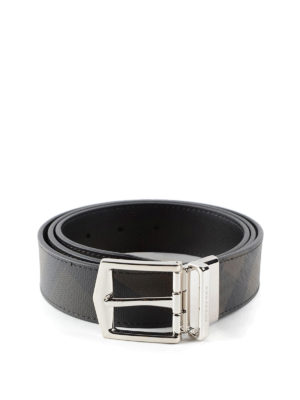Burberry: belts - James leather belt