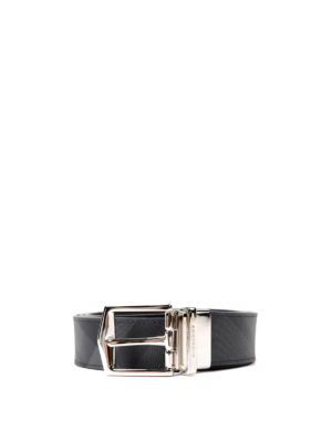 Burberry: belts - London Check reversible belt