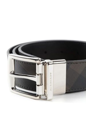 Burberry: belts online - James leather belt