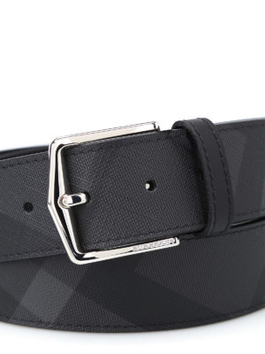 Burberry: belts online - Joe London Check belt