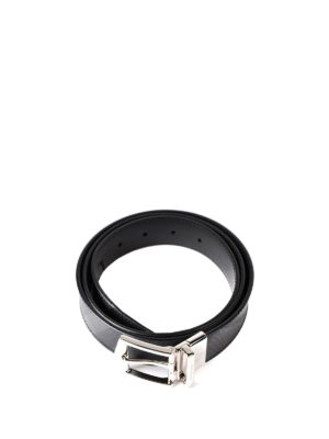 Burberry: belts online - London Check reversible belt