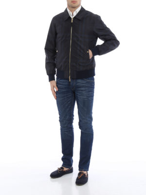 Burberry: bombers online - Carlford reversible jacket