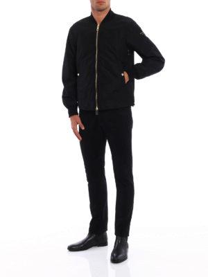 Burberry: bombers online - Eddison techno fabric bomber jacket