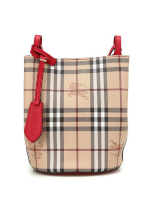 Burberry: Bucket bags - Lorne small satchel bag