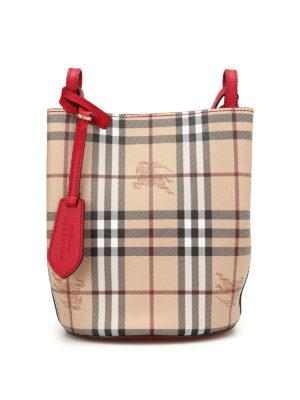 Burberry: Bucket bags - Lorne small satchel bag