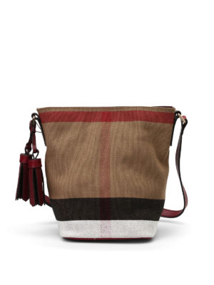 Burberry: Bucket bags - Mini Ashby bucket bag