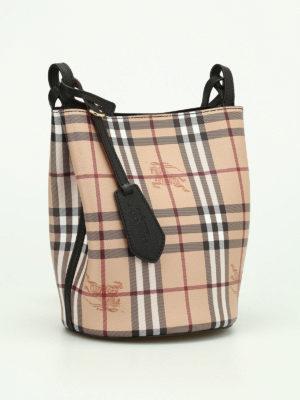 Burberry: Bucket bags online - Lorne small satchel bag