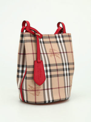 Burberry: Bucket bags online - Lorne small satchel bag