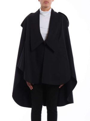 Burberry: Capes &  Ponchos online - Tydehill wool blend cloth cape
