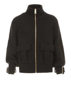 Burberry: cardigans - Cashmere blend knitted jacket