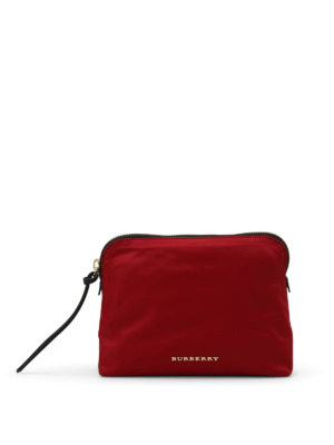Burberry: Cases & Covers - Nylon small pouch