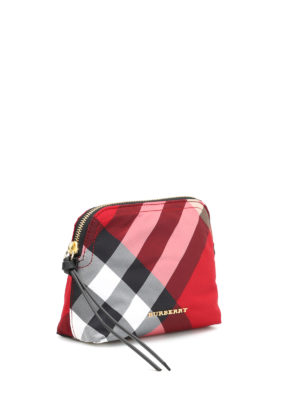 Burberry: Cases & Covers online - Check printed beauty case