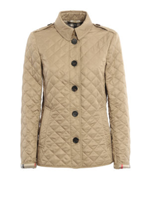 Burberry: casual jackets - Ashurst quilted jacket