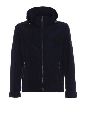 Burberry: casual jackets - Hedley nylon hooded jacket