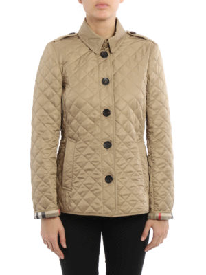 Burberry: casual jackets online - Ashurst quilted jacket