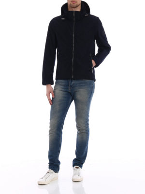 Burberry: casual jackets online - Hedley nylon hooded jacket
