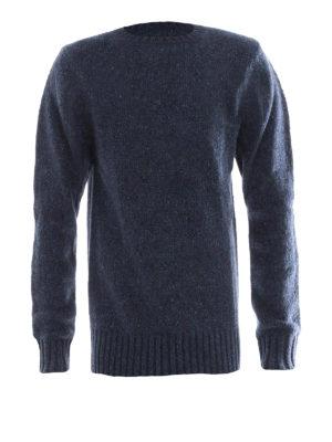 Burberry: crew necks - Cashmere mohair wool blend sweater