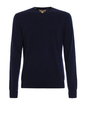 Burberry: crew necks - Kenneth cashmere crewneck