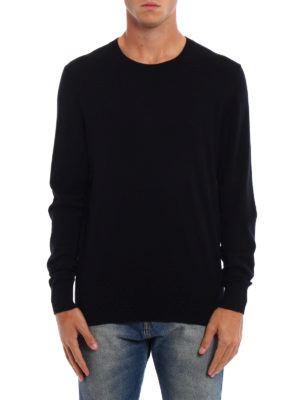 Burberry: crew necks online - Kenneth cashmere crewneck