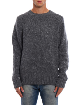 Burberry: crew necks online - Rossan warm crew neck pullover