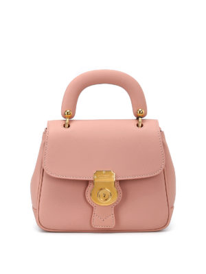 Burberry: cross body bags - DK88 pink Trench leather crossbody