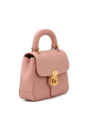 Burberry: cross body bags online - DK88 pink Trench leather crossbody