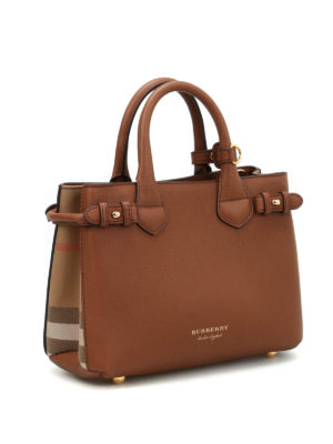 Burberry: cross body bags online - The Banner small leather bag