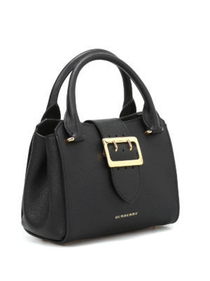 Burberry: cross body bags online - The Buckle leather crossbody