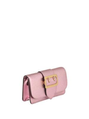 Burberry: cross body bags online - The Buckle mini crossbody bag