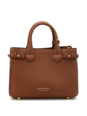 Burberry: cross body bags - The Banner small leather bag