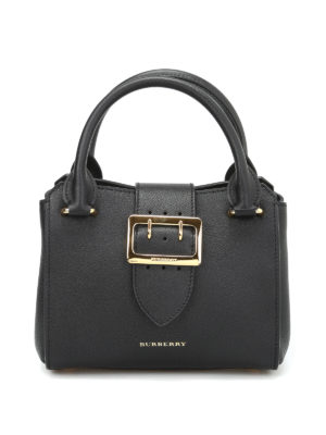 Burberry: cross body bags - The Buckle leather crossbody