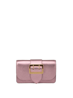 Burberry: cross body bags - The Buckle mini crossbody bag